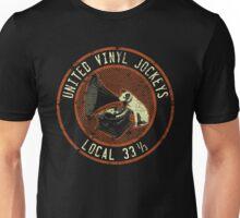 United Vinyl Jockeys Unisex T-Shirt