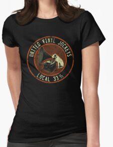 United Vinyl Jockeys Womens Fitted T-Shirt
