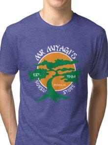 Mister Miyagi's Store Tri-blend T-Shirt