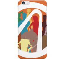 Borderlands Character Design iPhone Case/Skin