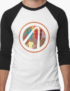 Borderlands Character Design Men's Baseball ¾ T-Shirt