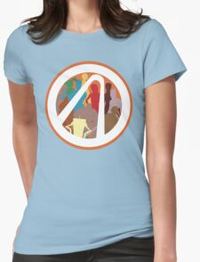 Borderlands Character Design Womens Fitted T-Shirt