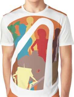 Borderlands Character Design Graphic T-Shirt