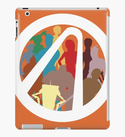 Borderlands Character Design iPad Case/Skin