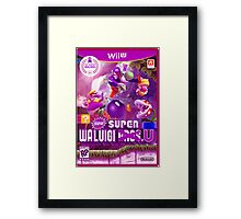 Super Waluigi Bros. U Framed Print