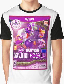 Super Waluigi Bros. U Graphic T-Shirt