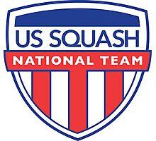 Team Usa - US Squash Photographic Print