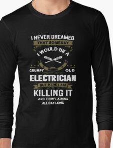 Grumpy Old Electrician T-Shirt