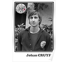Johan Cruyff - Legend Football Poster