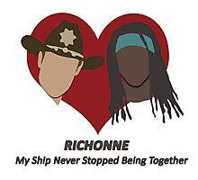 Richonne Love Shirt Photographic Print