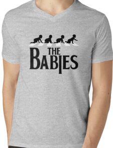 THE BABIES Mens V-Neck T-Shirt