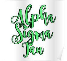 Alpha Sigma Tau Poster
