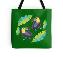 Toucans dancing Tote Bag