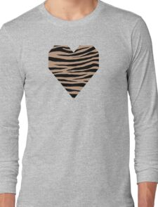 0503 Pale Taupe Tiger Long Sleeve T-Shirt