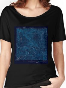 USGS TOPO Map Puerto Rico PR Orocovis 362497 1946 30000 Inverted Women's Relaxed Fit T-Shirt