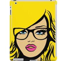 Pop Art Girl iPad Case/Skin