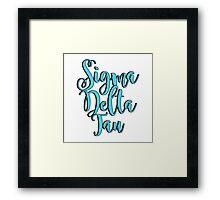 Sigma Delta Tau Framed Print