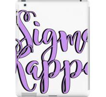 Sigma Kappa iPad Case/Skin