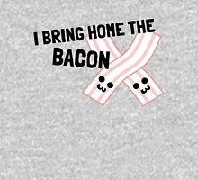 Couples Shirt Part 1: I Bring Home The Backon Unisex T-Shirt
