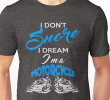 Snoring Man Unisex T-Shirt