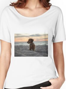 Alfie the Duchshund  Women's Relaxed Fit T-Shirt