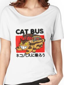 Cat Bus Women's Relaxed Fit T-Shirt