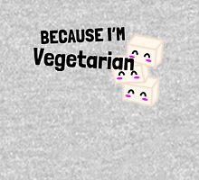 Couples Shirt Part 2: Because I'm Vegetarian Unisex T-Shirt