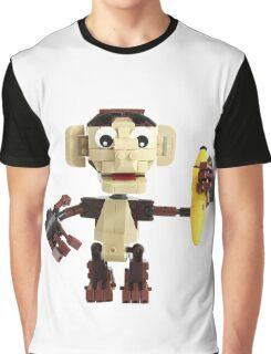 LEGO Monkey with Banana Graphic T-Shirt