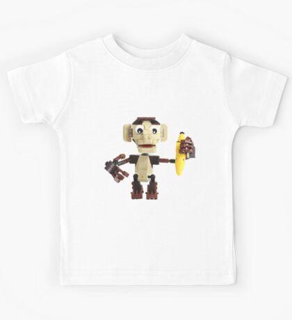 LEGO Monkey with Banana Kids Tee