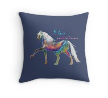 I LOVE PAINTED HORSES (1) Throw Pillow