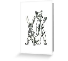 Best Cops in Zootopia Greeting Card