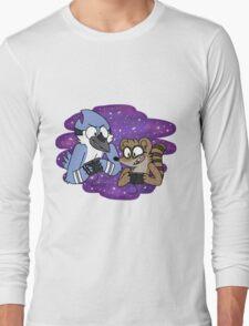 Mordecai and Rigby Long Sleeve T-Shirt