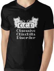 Obsessive Chinchilla Disorder Mens V-Neck T-Shirt