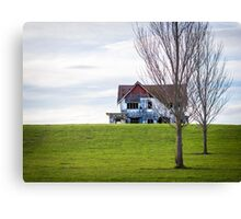 Abandoned House On The Hill Canvas Print