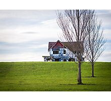 Abandoned House On The Hill Photographic Print