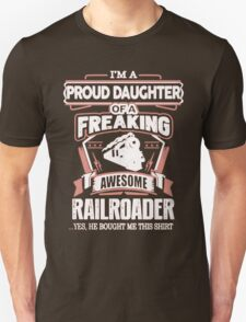 Railroader Daughter T-Shirt