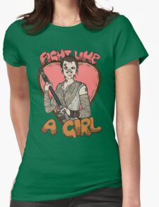Fight Like A Scavenger (Fight Like A Girl) Womens Fitted T-Shirt