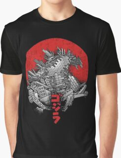 Legozilla shirt Affiliate Post Graphic T-Shirt