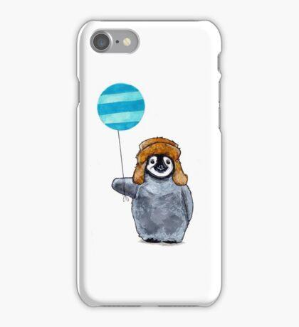 Penguin & Balloon iPhone Case/Skin