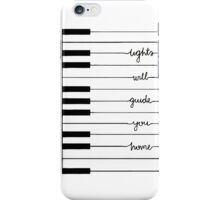 lights will guide you home iPhone Case/Skin