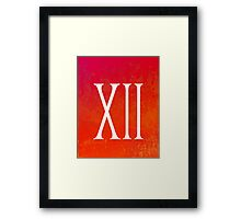 Sunset XII Framed Print