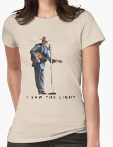 i saw the light film Womens Fitted T-Shirt