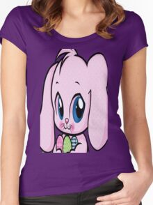 Cute Easter Bunny Women's Fitted Scoop T-Shirt