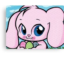 Cute Easter Bunny Canvas Print