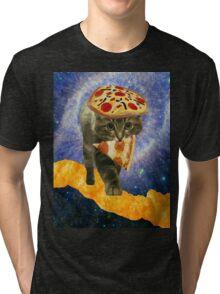 pizza cheetos cat Tri-blend T-Shirt