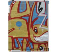 geometric pet with big eyes iPad Case/Skin