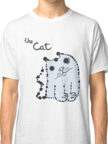 Funny cute ink splashes cats. Classic T-Shirt