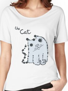 Funny cute ink splashes cats. Women's Relaxed Fit T-Shirt