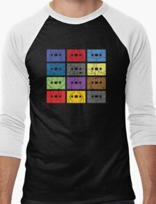 Something About My Cassettes Men's Baseball ¾ T-Shirt