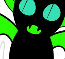 Green Bat Sticker
